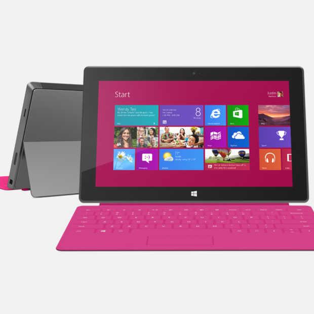 Verkopen Surface RT teleurstellend, Surface Pro boven verwachting
