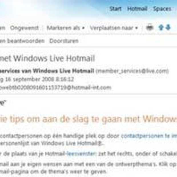 Vernieuwde Hotmail tot 70% sneller