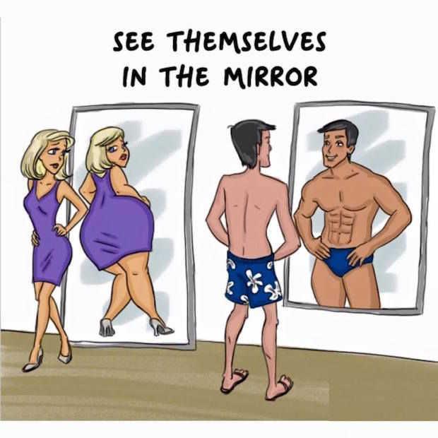 12 verschillen tussen mannen en vrouwen