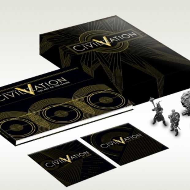 Vijf Metalen Mannentjes In Special Edition Civ V