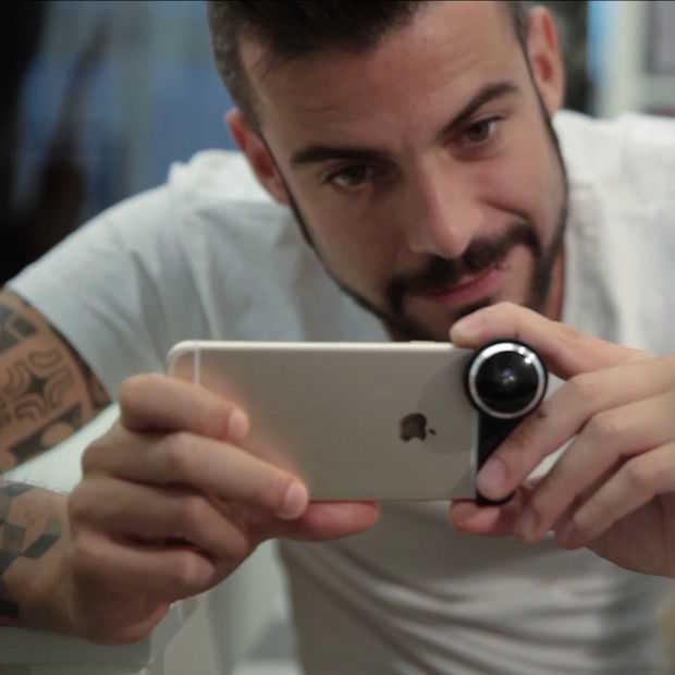 Met deze iPhone-lenzen kun je virtual reality video's maken