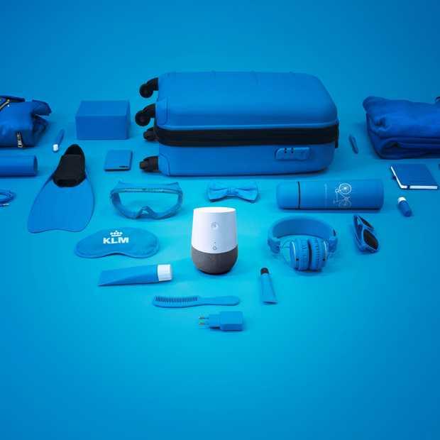 KLM Blue Bot helpt je inpakken via Google Home
