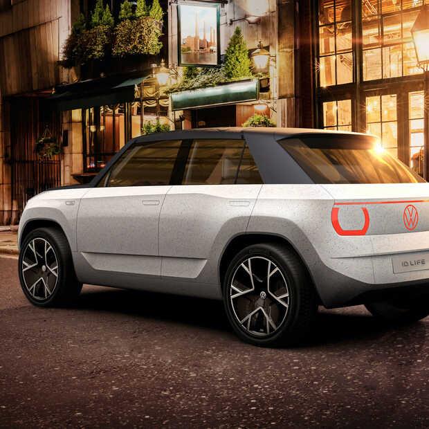 Volkswagen ID LIFE duurzaam stadsautootje voor de toekomst