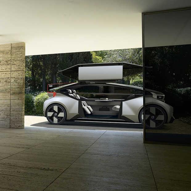 Autonoom rijden; slapend van A naar B in nieuw concept Volvo 360c