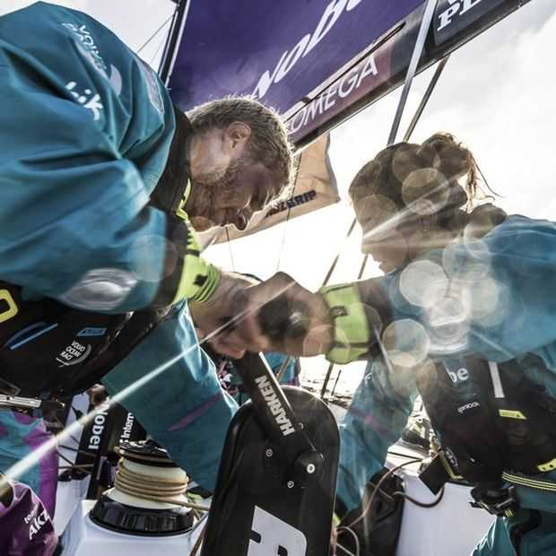 Gaat Nederland de Volvo Ocean Race winnen over vier dagen?