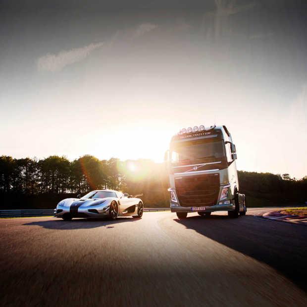 Koenigsegg vs. Volvo Truck