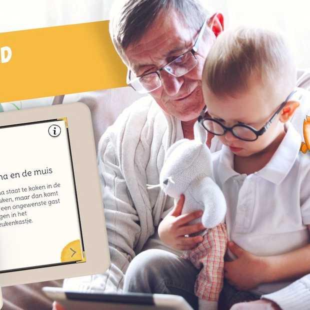 Met deze app kunnen opa's en oma's voorleesverhaaltjes inspreken voor kleinkinderen