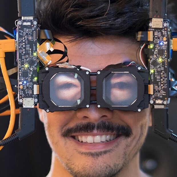 Facebook kan nu je ogen op je VR-bril projecteren