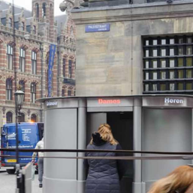 Eerste Nederlandse vrouwelijke plaspaal staat in Amsterdam