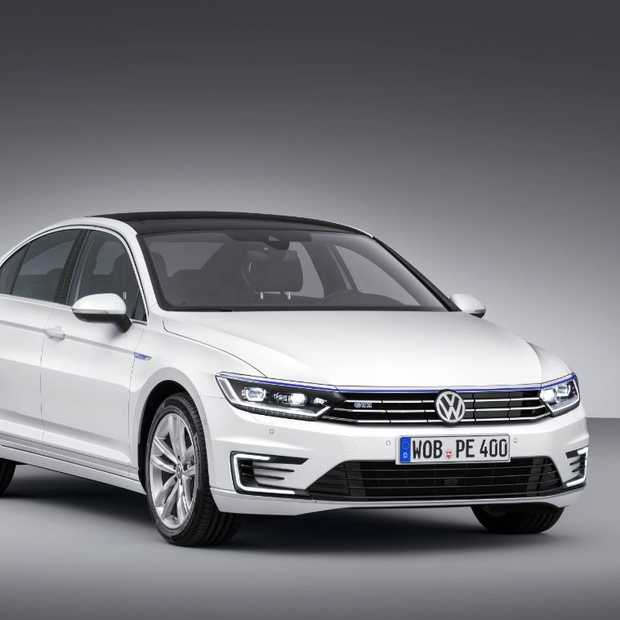 Passat GTE: plug-in hybride met 7% bijtelling komt zomer 2015