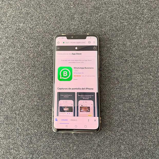 WhatsApp Business komt nu ook beschikbaar voor iOS