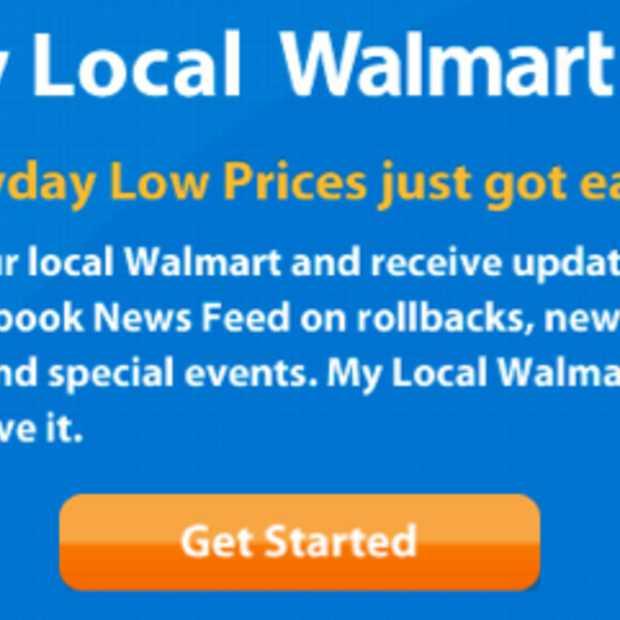 Walmart's 3.500 nieuwe Facebook pagina's