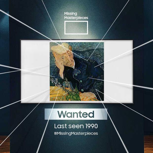 Samsung laat verdwenen meesterwerken tot leven komen