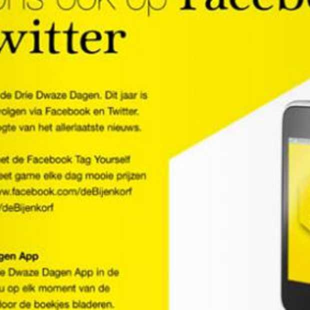 Warenhuizen aan de slag met social media: Bijenkorf vs. V&D