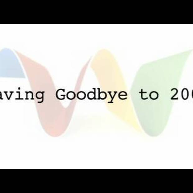 Waving Goodbye to 2009