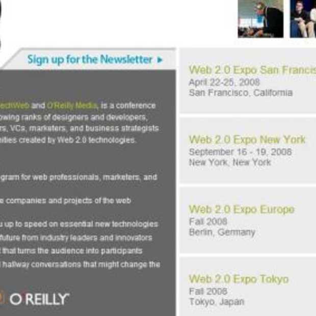 Web 2.0 Expo in San Francisco