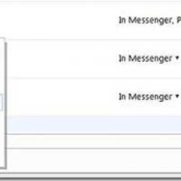 Web Messenger in Hotmail