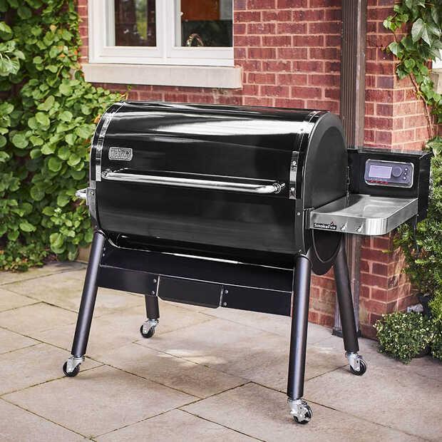 Met de Weber SmokeFire wil je het hele jaar door barbecueën