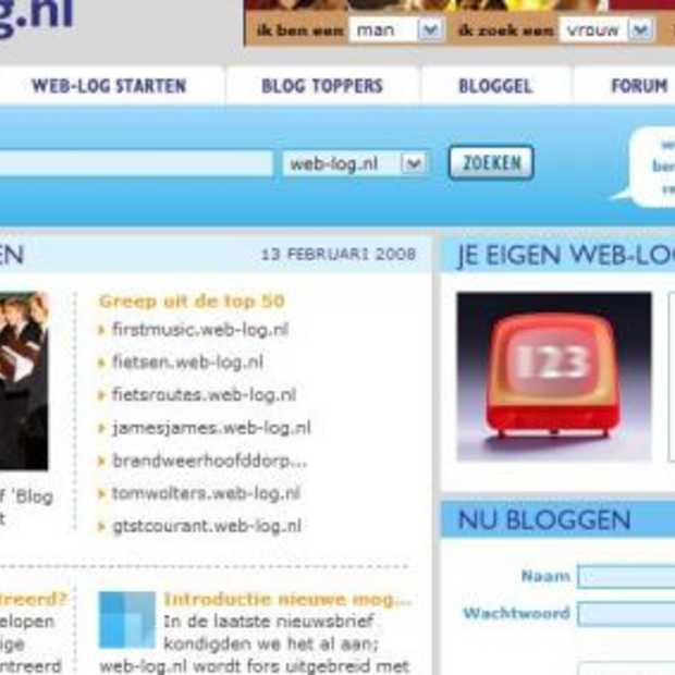 Webloggen in de lift