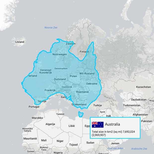 Na het zien van deze kaarten kijk je compleet anders naar de wereldkaart