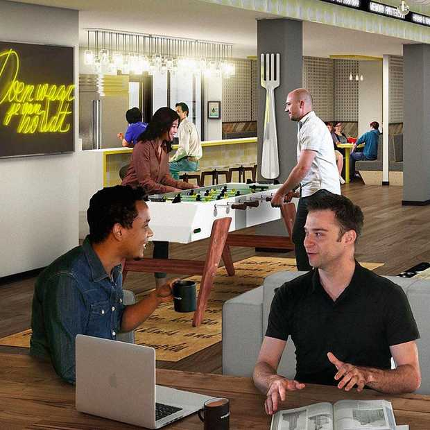 WeWork opent eerste etage op nieuwe locatie in Amsterdam