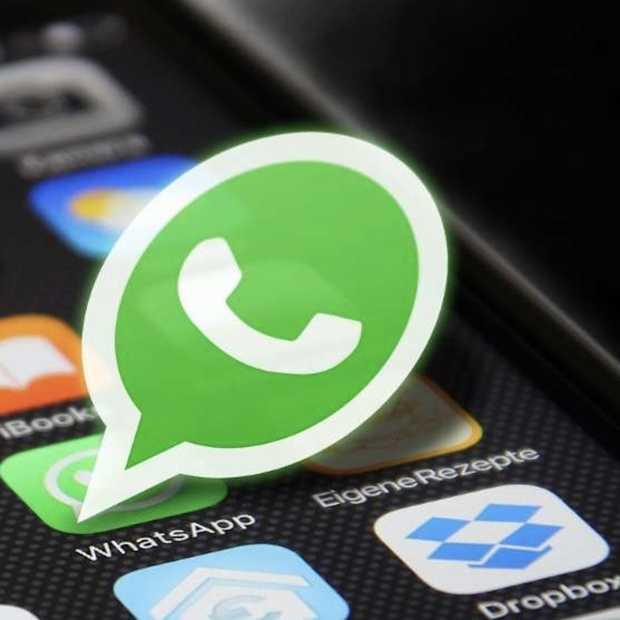 WhatsApp groepsvideogesprekken voeren met maximaal acht mensen
