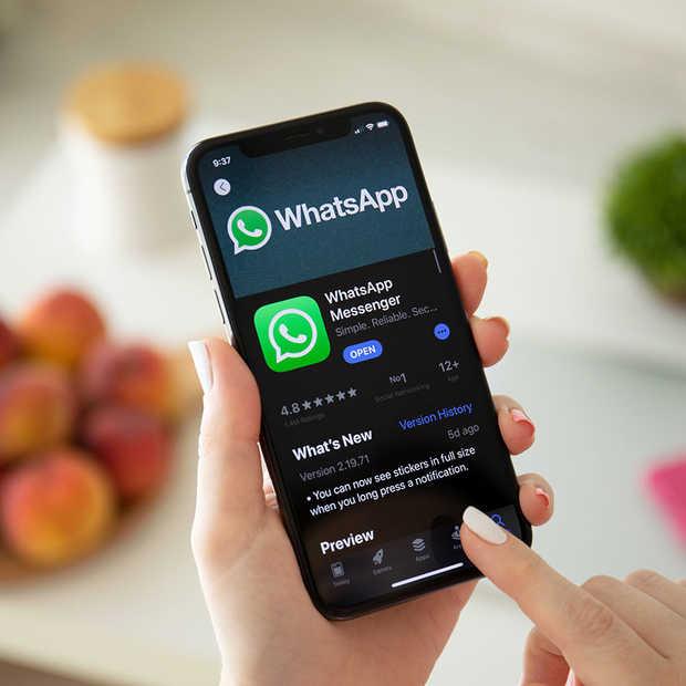 Donkere weergavemodus nu ook beschikbaar op Whatsapp