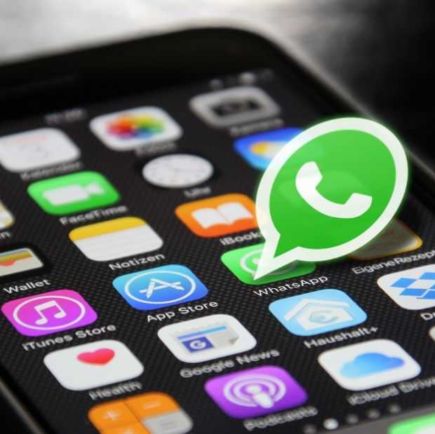 WhatsApp remt doorsturen van berichtjes