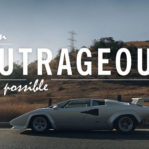 Lamborghini Countach : When Outrageous Was Possible