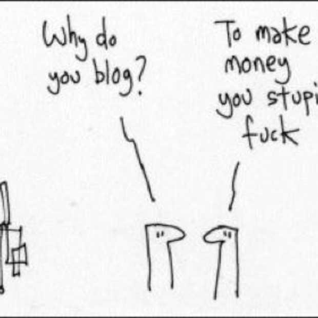 Wie inspireerde mij om te bloggen