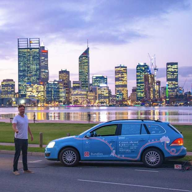 In 885 dagen naar Australië met een elektrische auto