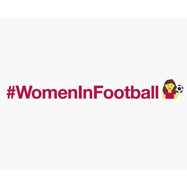 Eerste emoji voor vrouwenvoetbal #WomeninFootball