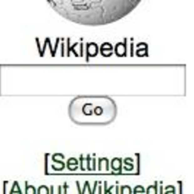 Wikipedia lanceert mobiele site