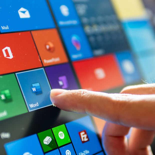 De Windows 10 beveiligingsupdate van 2020