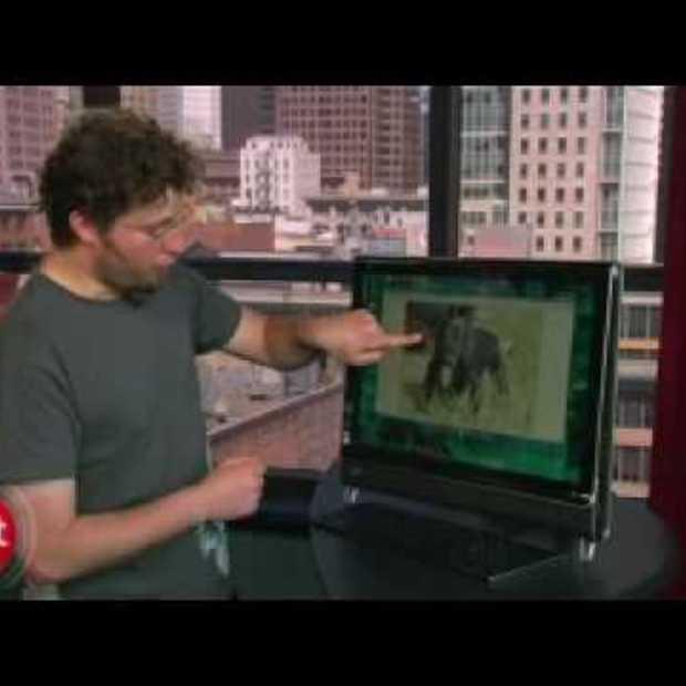 Windows 7 touchscreen