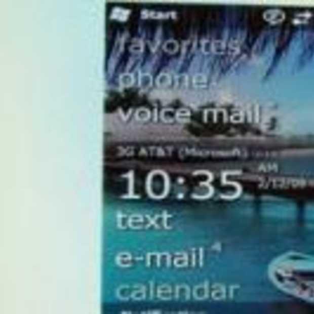 Windows Mobile 6.5 de nieuwtjes