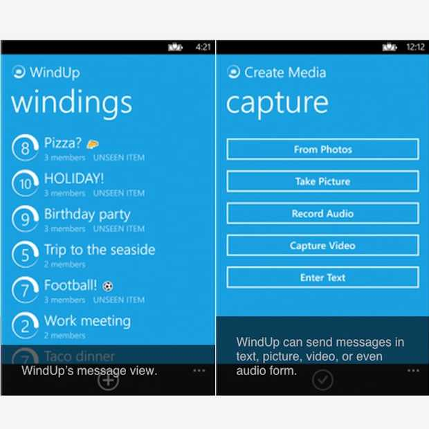 WindUp: SnapChat van Windows