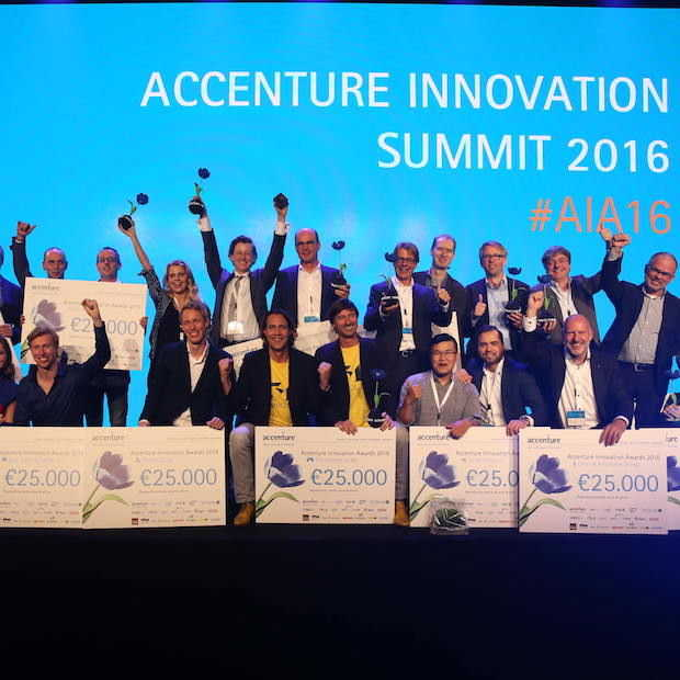Winnaars Accenture Innovation Awards 2016 bekend