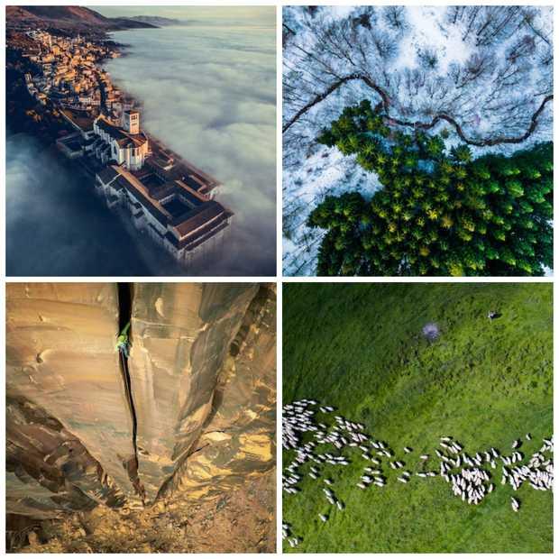 Dit zijn de winnaars van International Drone Photography Contest!