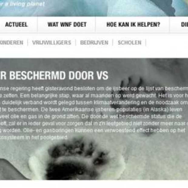 WNF wint Usability Award-verkiezing, AH.nl is tweede