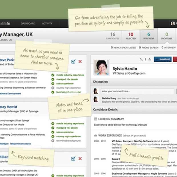 Workable maakt het eenvoudiger voor bedrijven om personeel te huren
