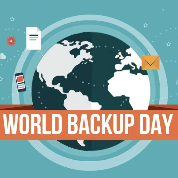 Vandaag is het World Backup Day