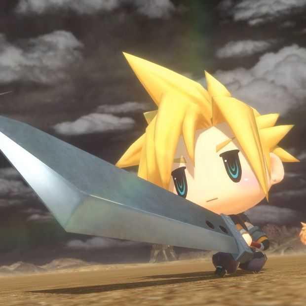 World of Final Fantasy is te random