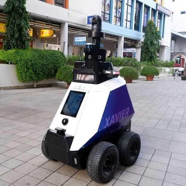 Eerste robocops gaan patrouilleren in Singapore