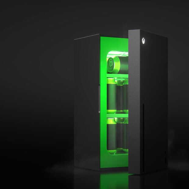 Je volgende Xbox is.. een koelkast