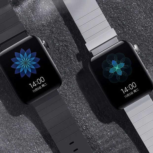 Xiaomi's Mi Watch lijkt op de Apple Watch en kost $185