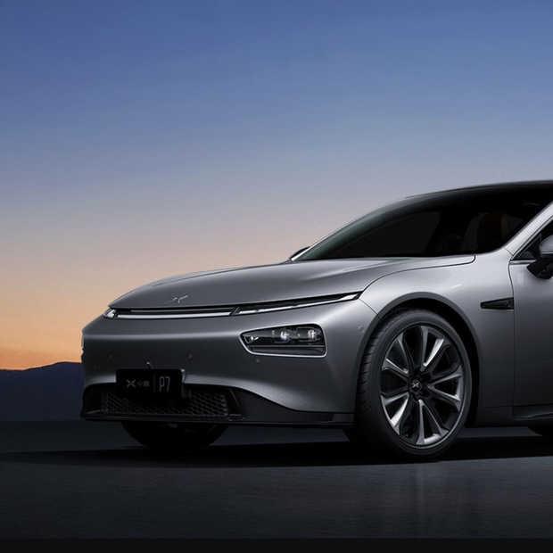 Deze Xpeng P7 kost slechts een derde van een Tesla Model S