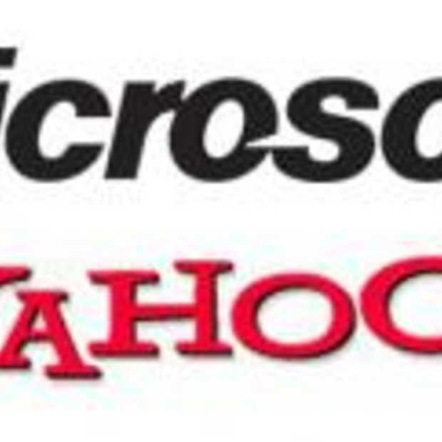 Yahoo nog steeds in vizier Microsoft