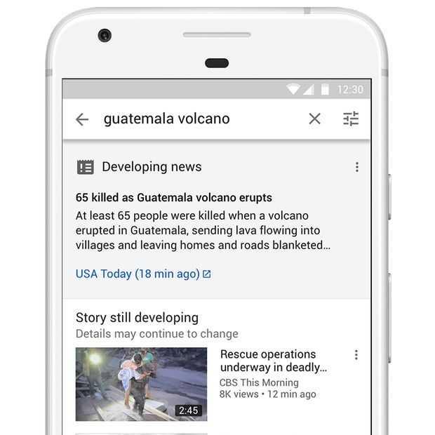 YouTube gaat ook geschreven nieuws in zoekresultaten laten zien