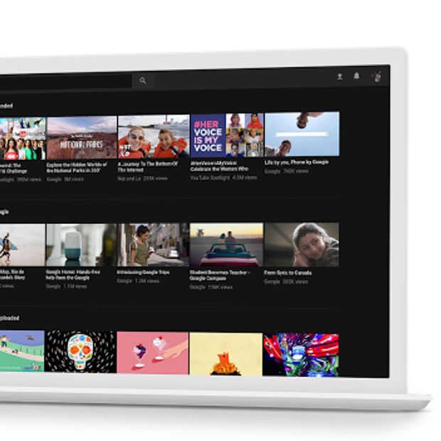 Youtube krijgt nieuw uiterlijk op desktop inclusief donkere modus